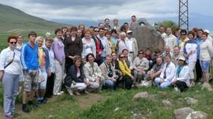группа у якорного камня